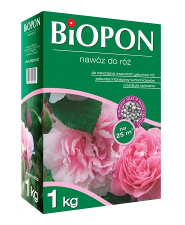 Nawóz do róż BIOPON