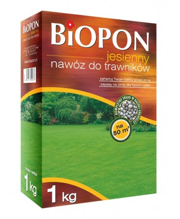 NAWÓZ JESIENNY DO TRAWNIKA-Biopon