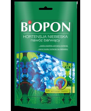 HORTENSJA NIEBIESKA-NAWÓZ BARWIĄCY-Biopon