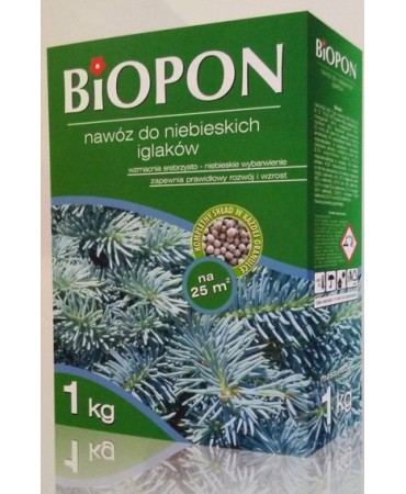NAWÓZ DO NIEBIESKICH IGLAKÓW-Biopon